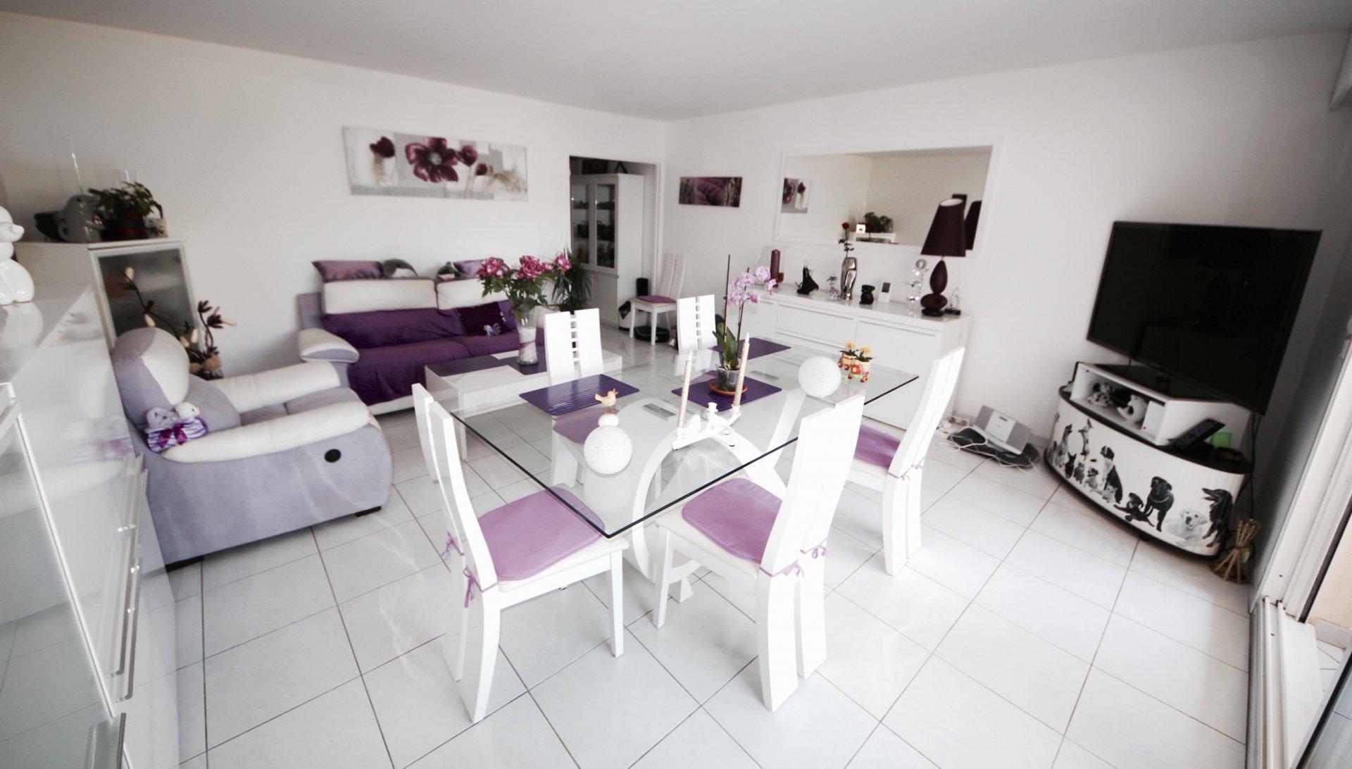 Cannes - Saint Nicolas - Joli 3 P. 80m2 avec terrasse et box au calme