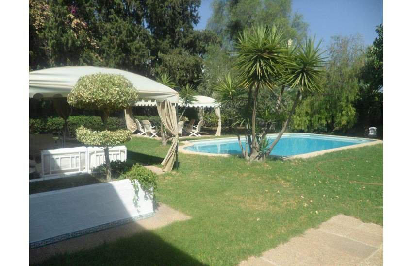 une superbe villa  plein pied à la Soukra