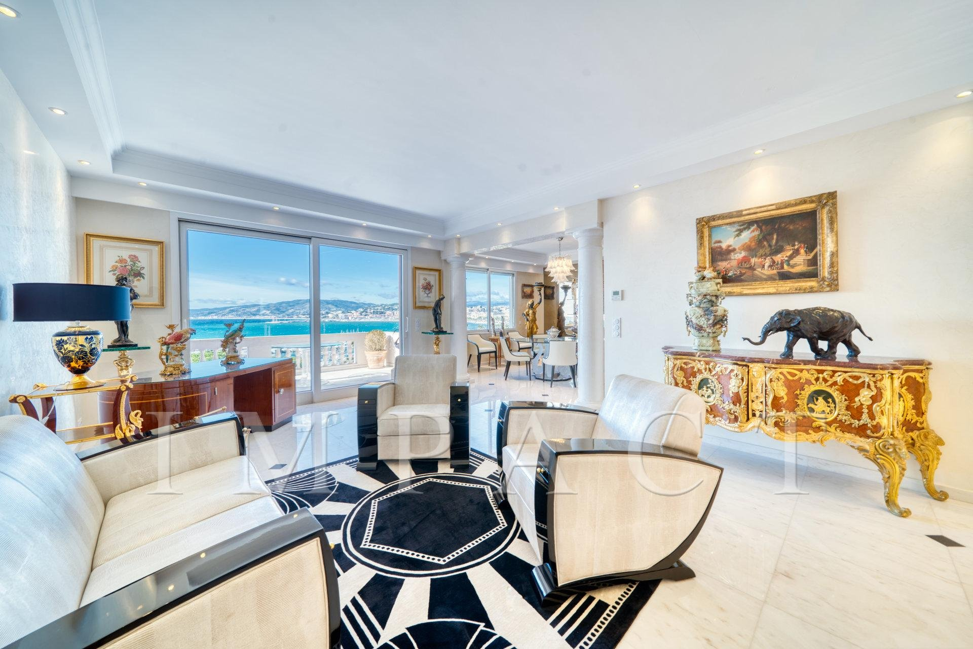 SEA VIEW PENTHOUSE FOR SALE CANNES