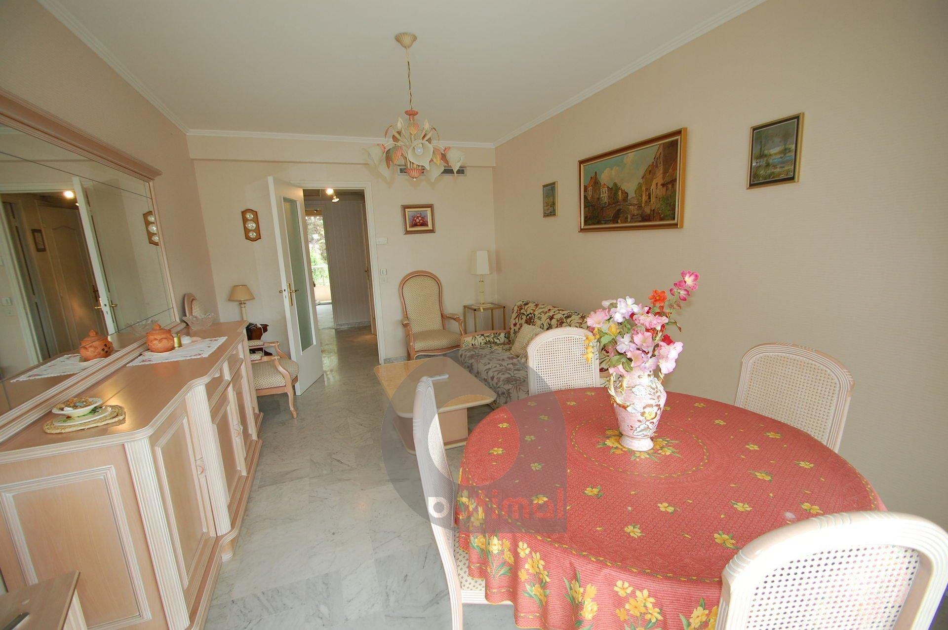 3room with terrace and beautiful sea view, swimming pool and garage