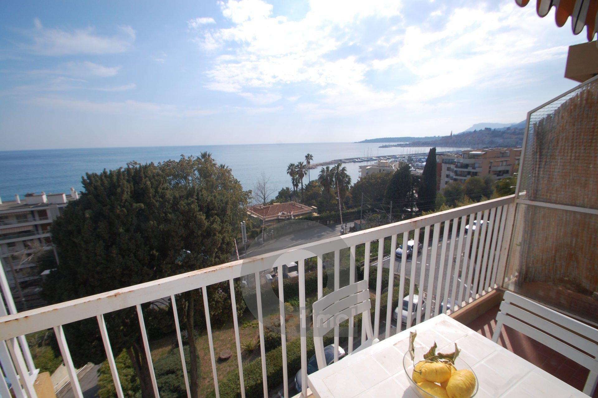 2P avec vue mer balcons et parking