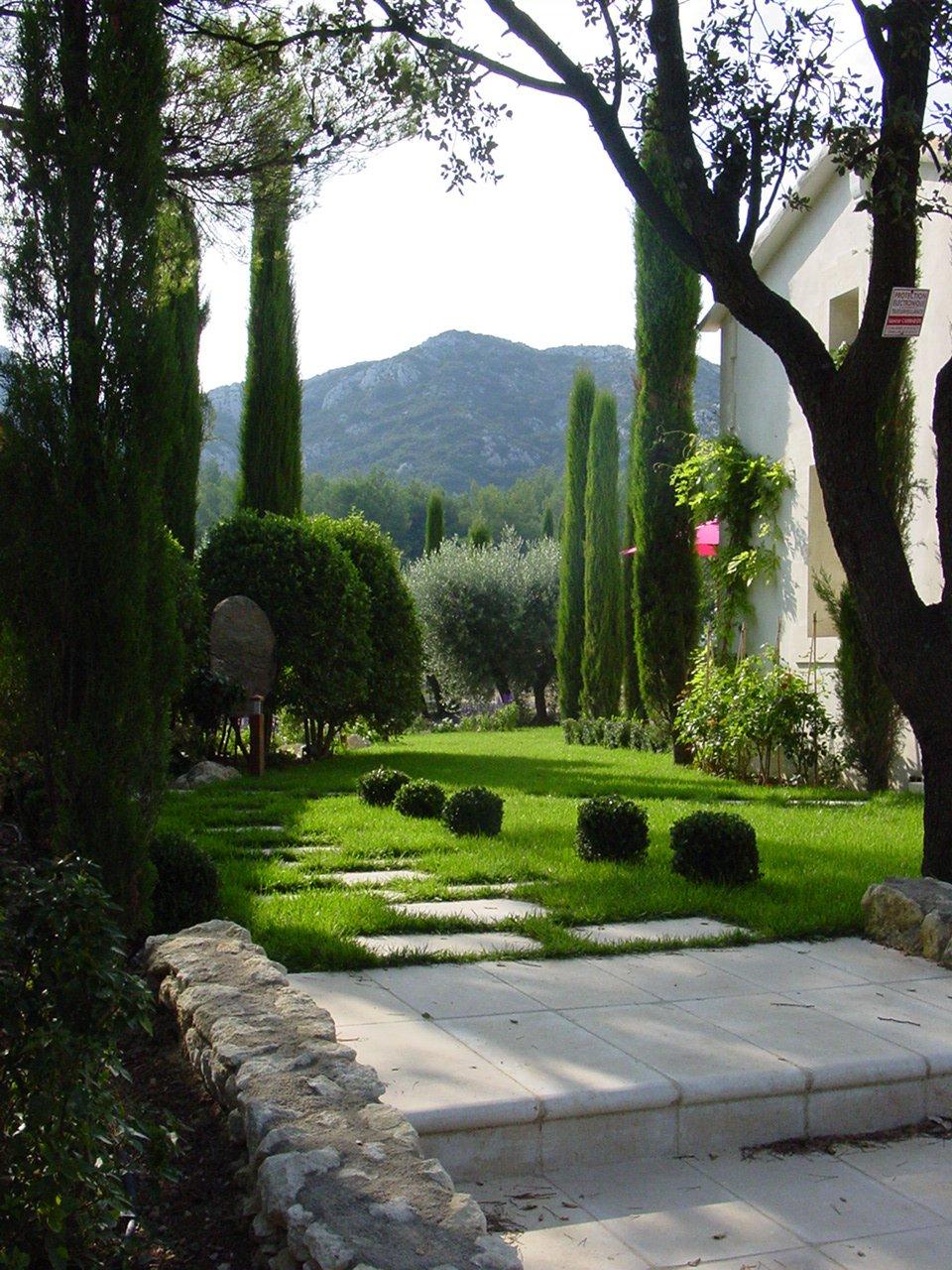 magnifique propriété à Eygalières face aux Alpilles