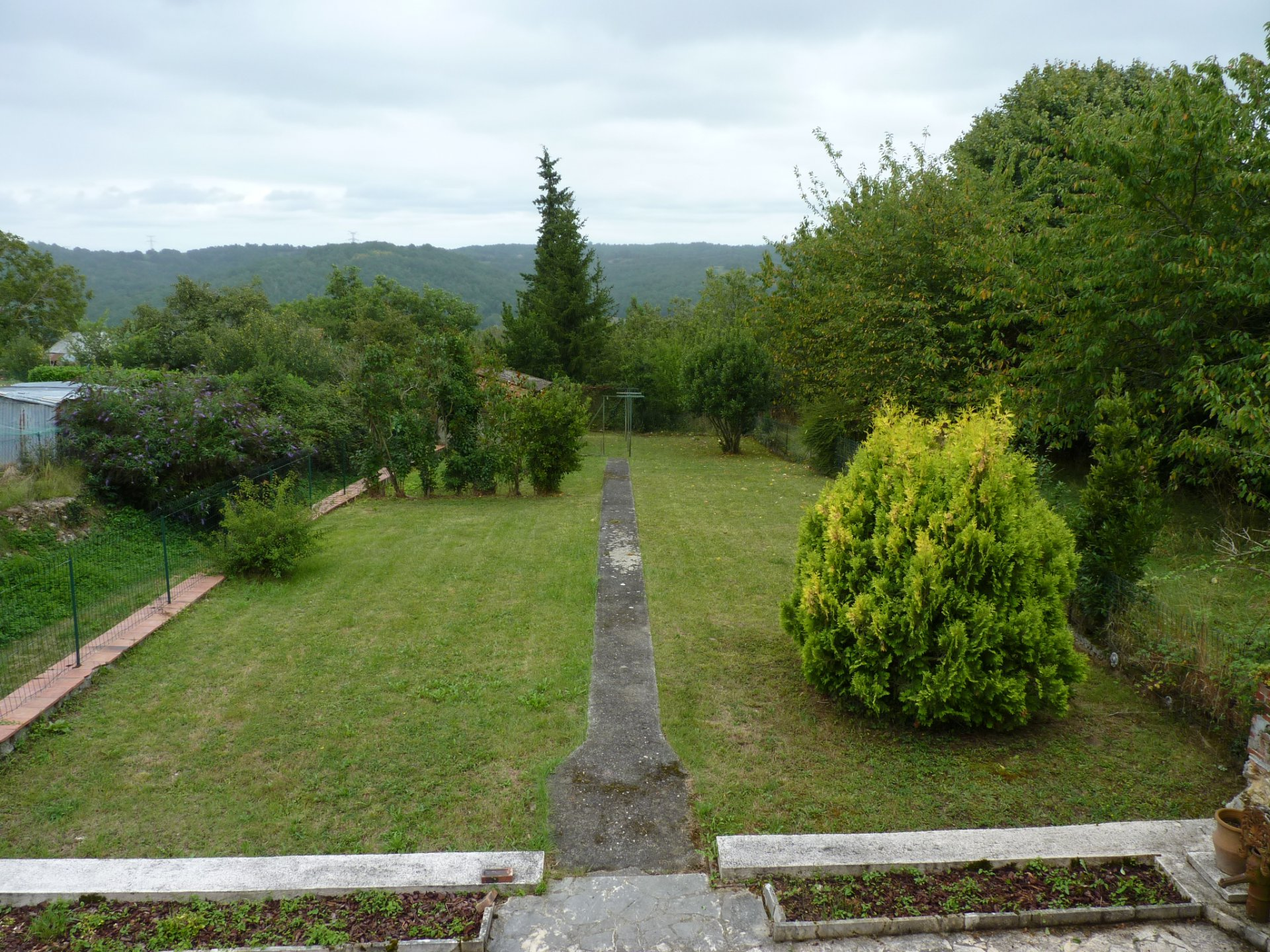 Base price village house of 130 m² with garden and view Pyrenees in Montmaurin,