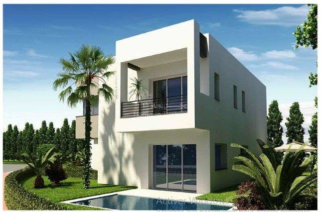 Villa new isolated golf of 306 m2 with 4 rooms terrace garden swimming pool
