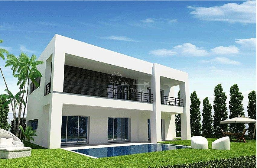 Villa new isolated golf of 426 m2 with 4 rooms terrace garden swimming pool
