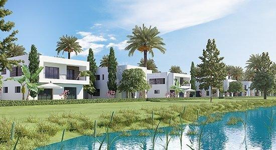 Villa golf isolée neuve de 426 m2 avec 4 chambres terrasse jardin piscine