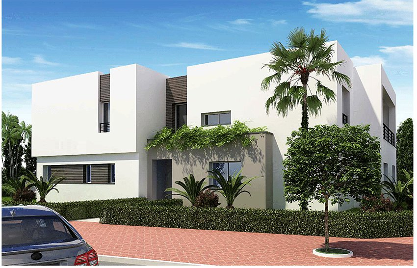 Villa new isolated golf of 367 m2 with 4 rooms terrace garden swimming pool