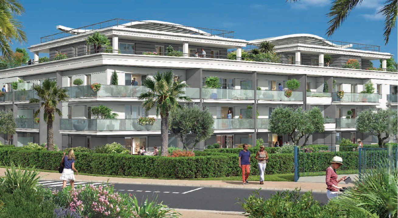 VILLENEUVE LOUBET Plage - French Riviera - 2 bed apartment - excellent ROI