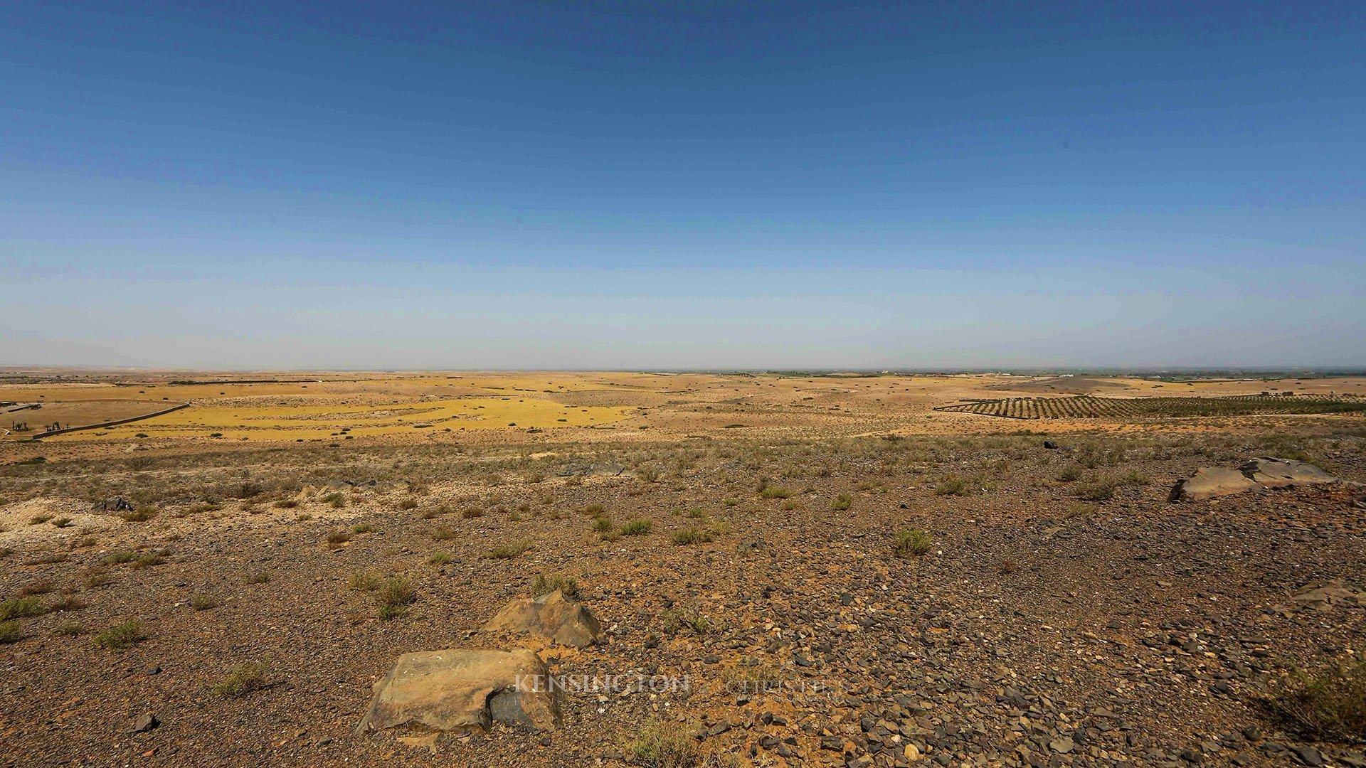 KPPM00860: Villa Hanane Building land Marrakech Morocco