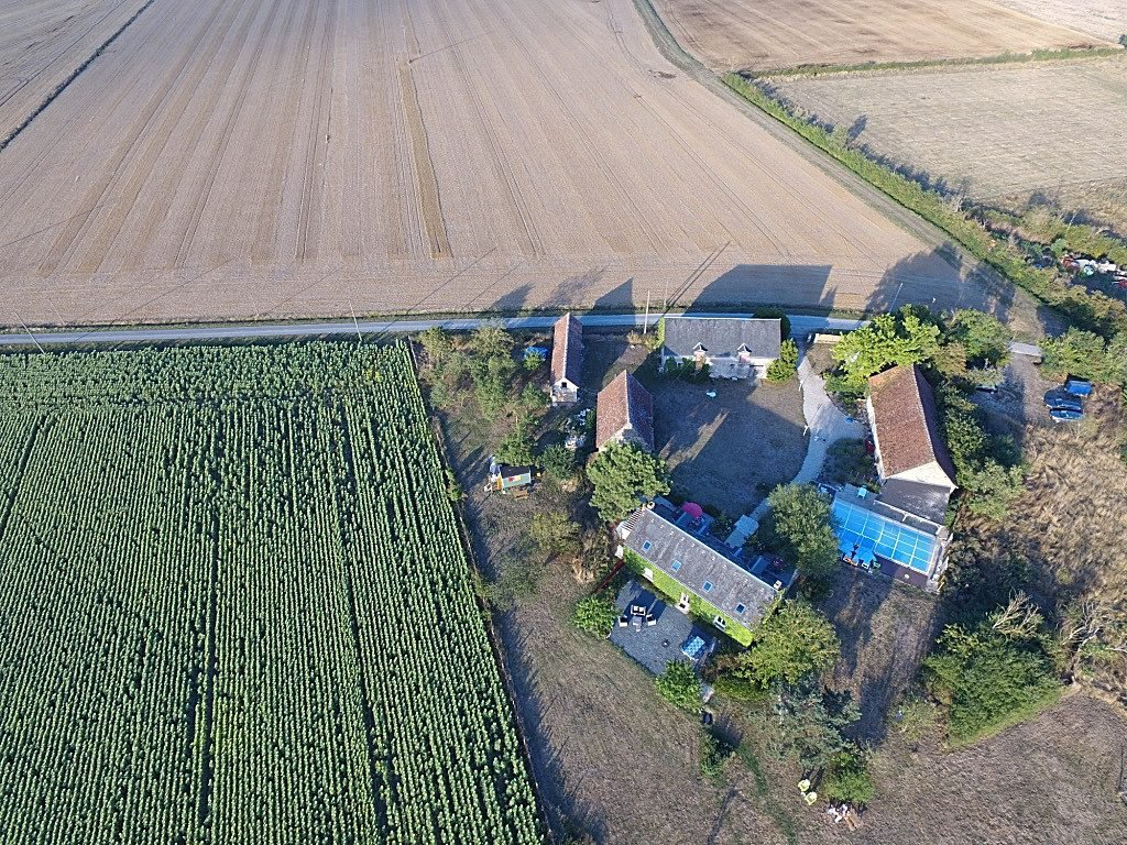 The Brenne: property (B&B) with swimming pool