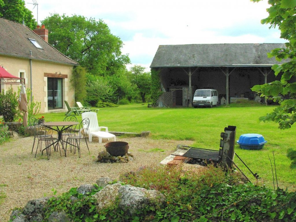 Park of the Brenne: Property with guest accommodation and pool