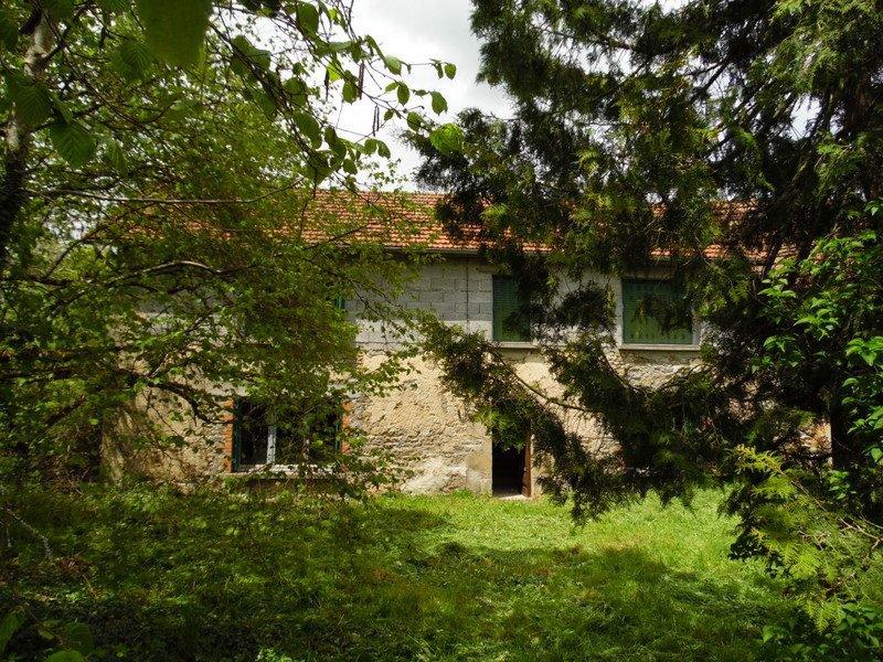 Te koop in de Puy de Dôme te renoveren longère met tuin (550m²)