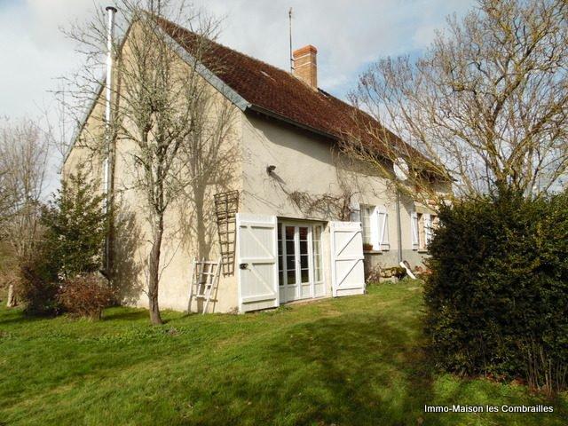 Te koop in Limousin, woonhuis, schuur en tui