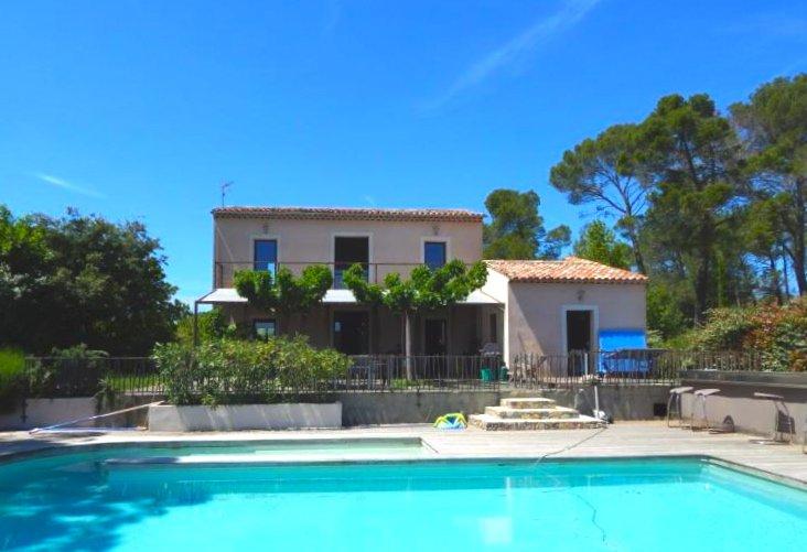 Sillans La Cascade, Villa in prachtige omgeving