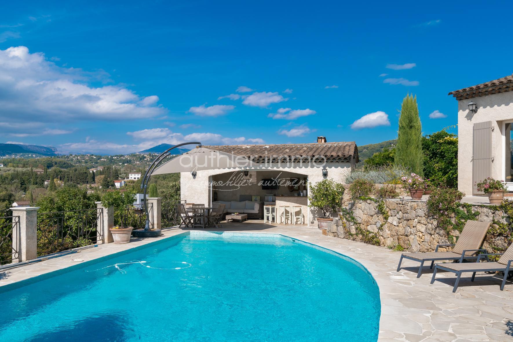 Vente Villa Mouans-Sartoux Vue Dégagée