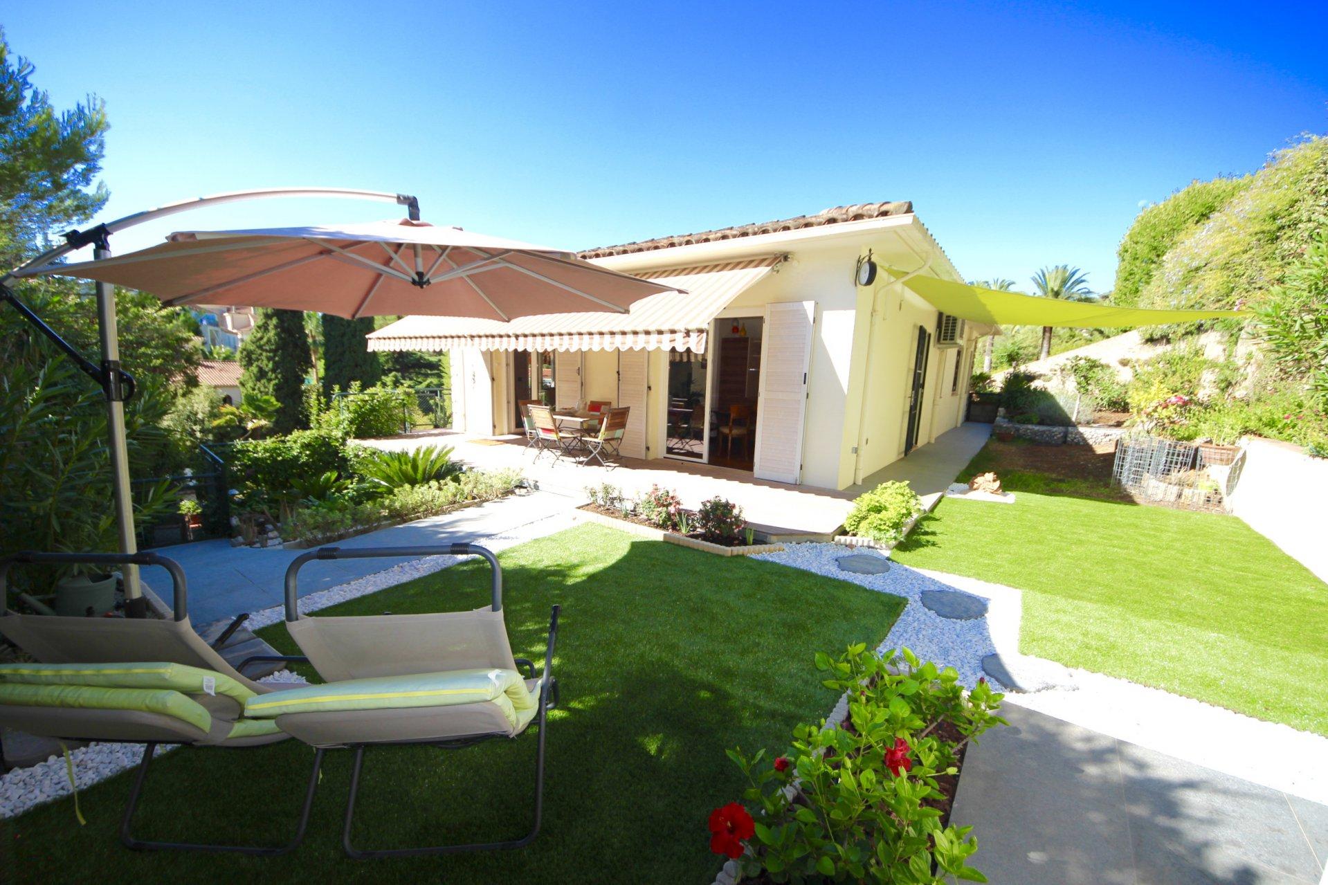 Splendide Rez de Jardin 4 P Cannes Montfleury