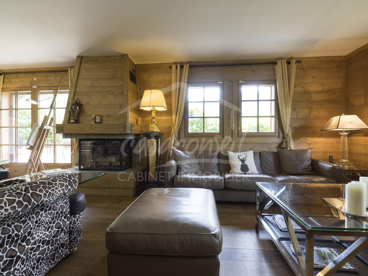 St Gervais Mt Blanc- vaste appartement avec jardin