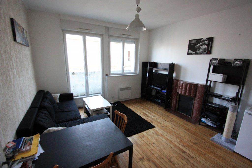 Brest-St Martin-T1bis 39  m² - NON meublé-   avec balcon