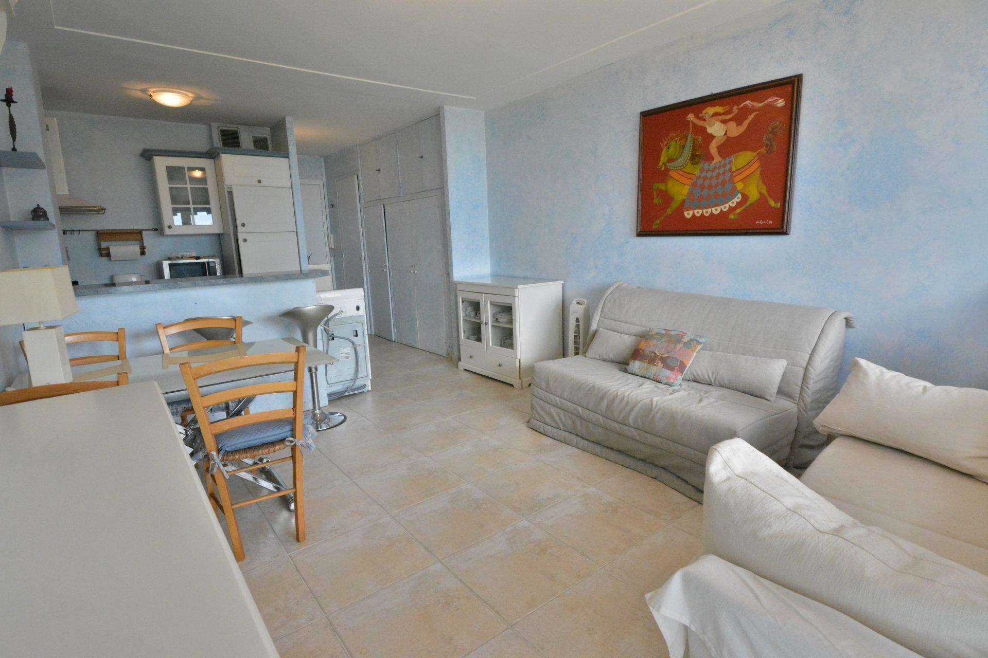 Studio in waterfront résidence - Juan les Pins