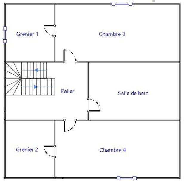 Exclusivité ! A 10 mn à pied du centre de Flacé (Mâcon), proche de toutes les commodités ainsi que des écoles, tout en étant au calme et sans vis à vis, ancienne maison bourgeoise à rénover.    Elle se compose d'un sous-sol en pierre de 65 m² au rez de chaussée, à l'étage elle dispose d'une cuisine, salon, deux chambres et salle d'eau et enfin de deux grandes chambres avec combles aménageables et salle de bain au second.  Très lumineuse, elle s'ouvre sur un beau terrain clôt de plus de 2100 m² constructible.  Travaux à prévoir mais très gros potentiel ! A visiter sans tarder !