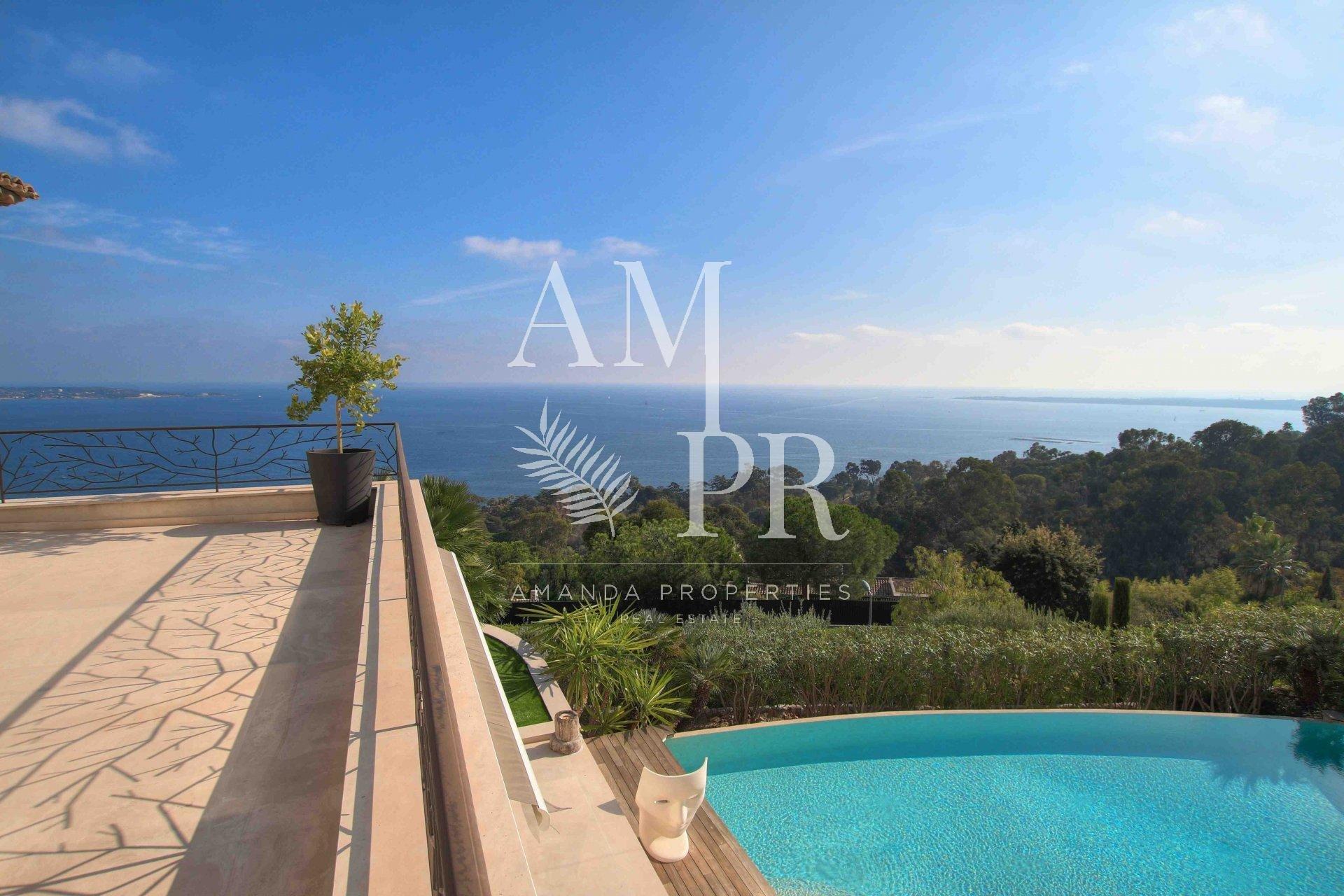 Vue mer panoramique - Super Cannes
