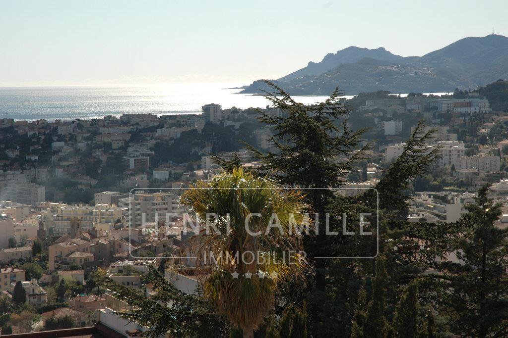 Villa L'Agence HENRI CAMILLE CANNES vous propose