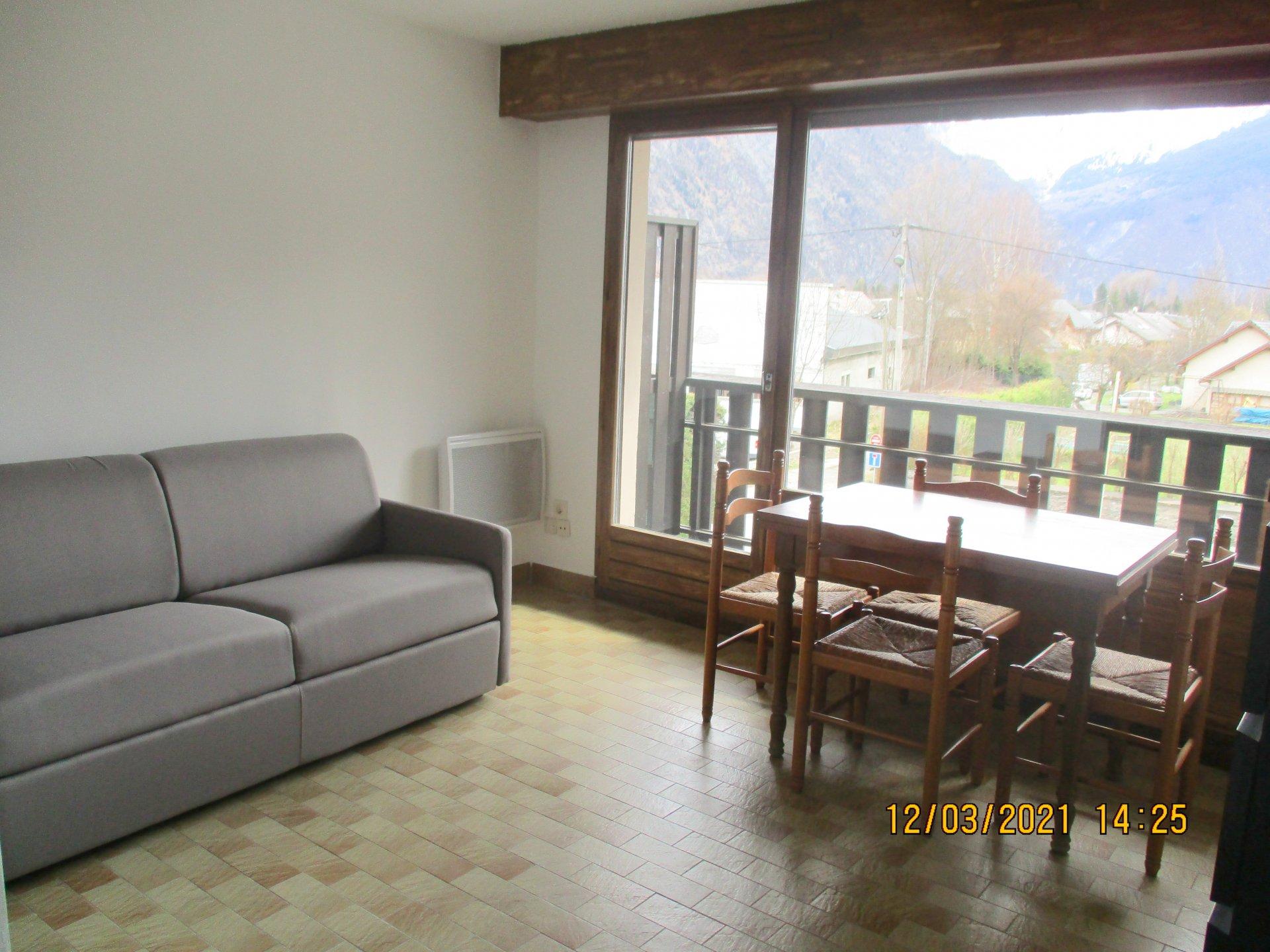 Studio meublé Balcon
