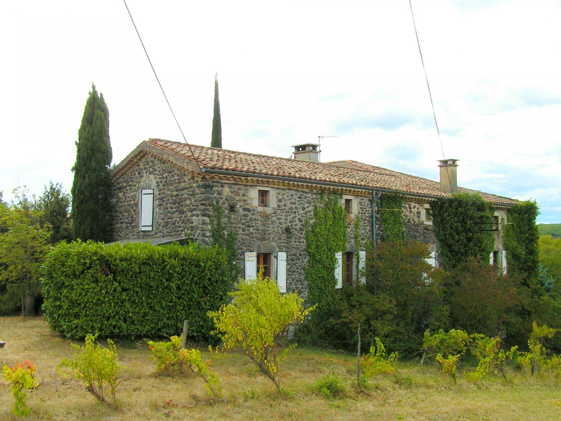 Landhuis /chambres d'hôtes, Mirabel, zuid-Ardèche