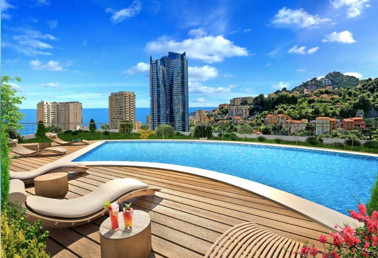 Beausoleil - french riviera - 2 bed Apartment for investment near Monaco