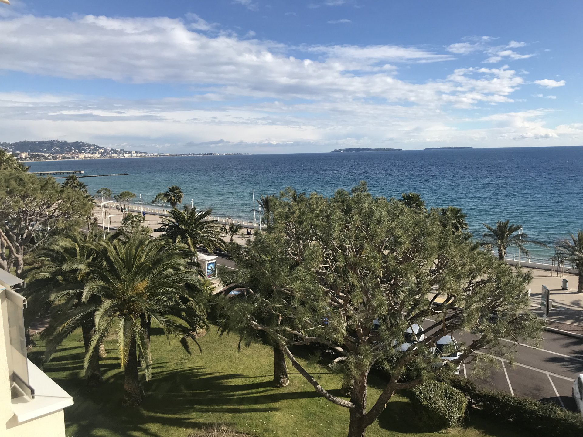 Cannes Panoramic sea view