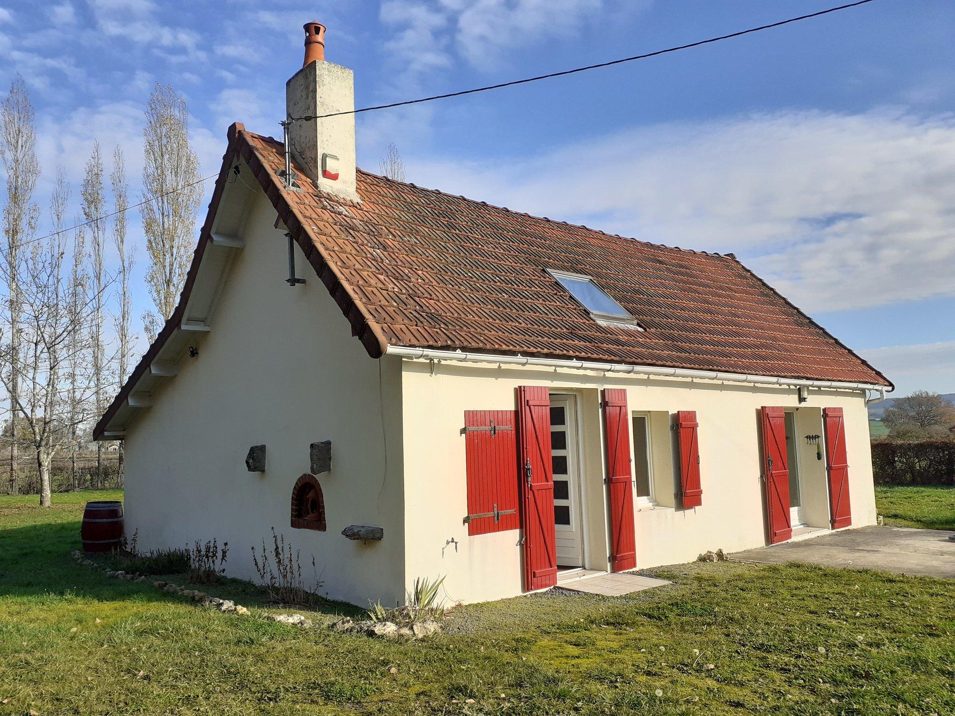 Charmant vrijstaand maison de campagne in de Bourgogne
