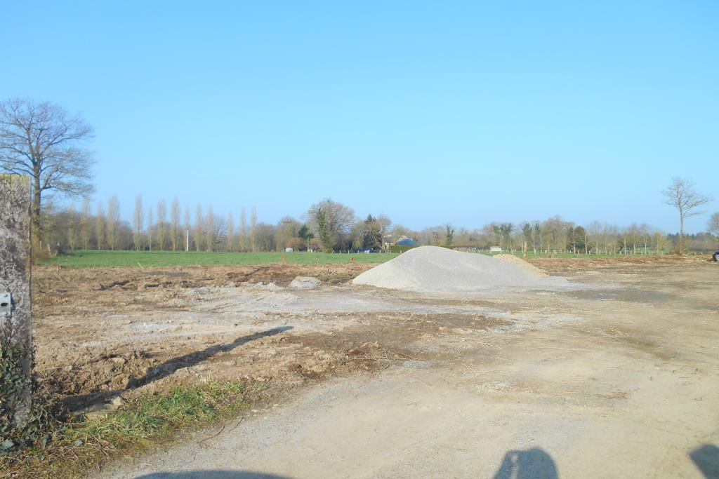Terrain constructible 590 m²