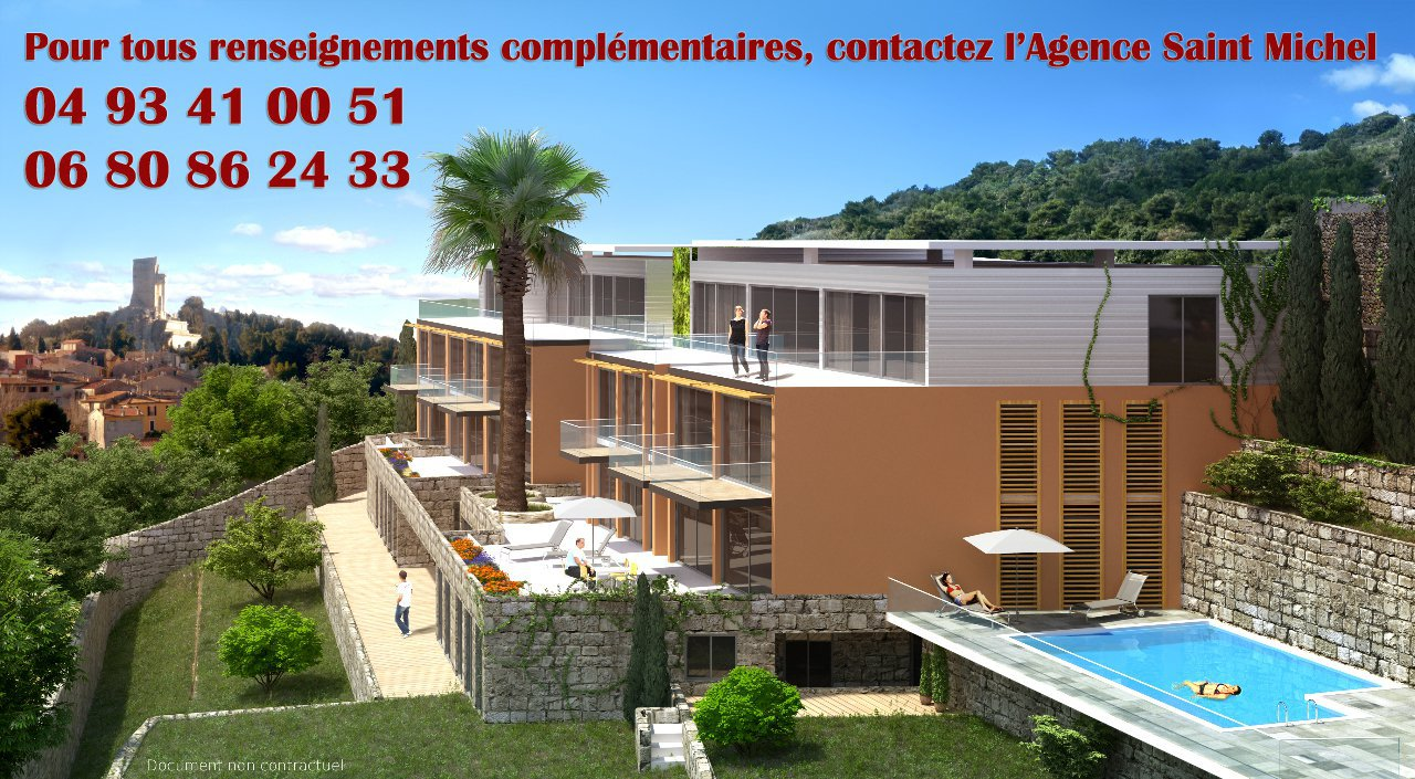 Sale Apartment - La Turbie Village