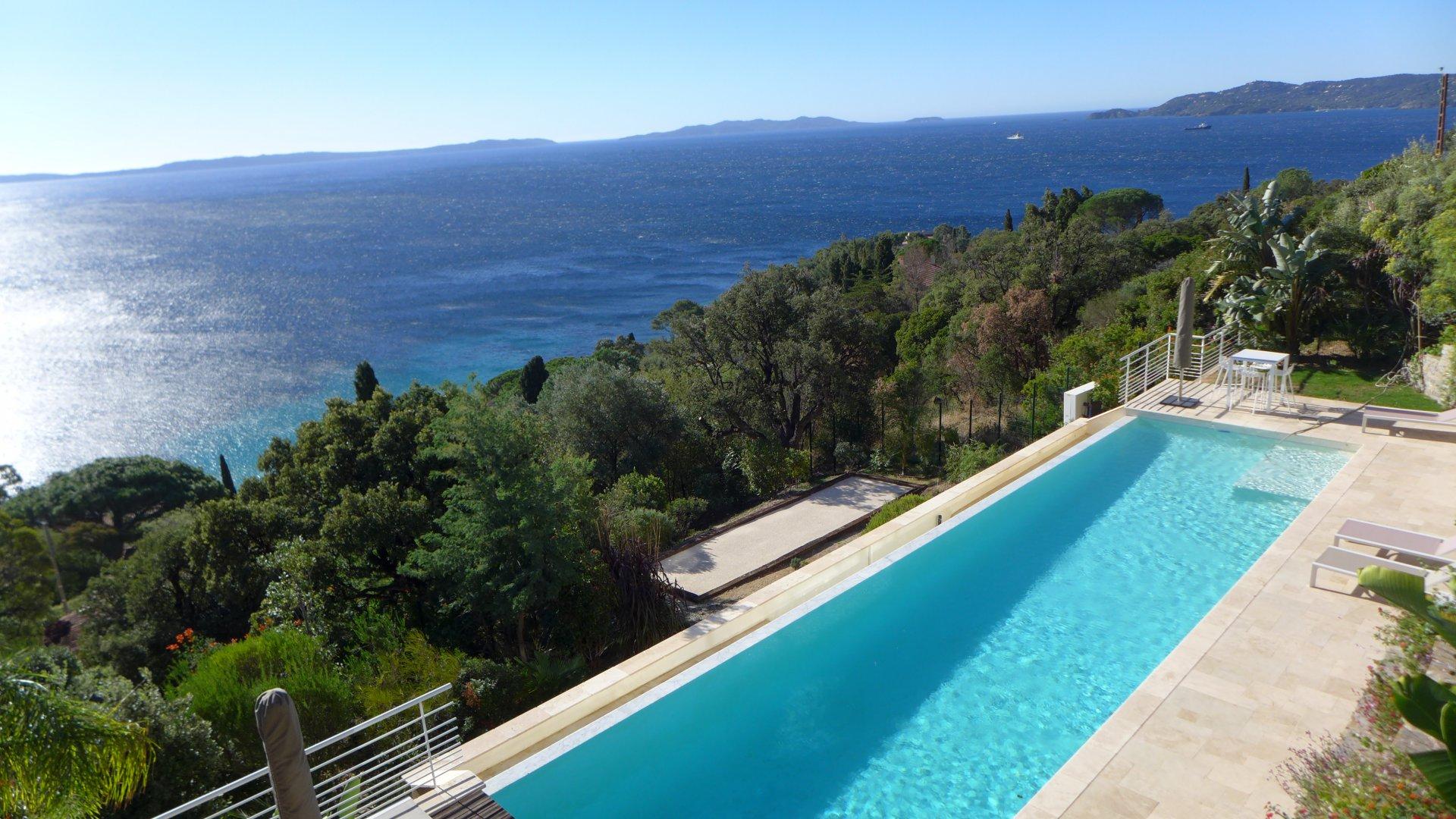 Contemporary villa with stunning view le Lavandou Var Provence