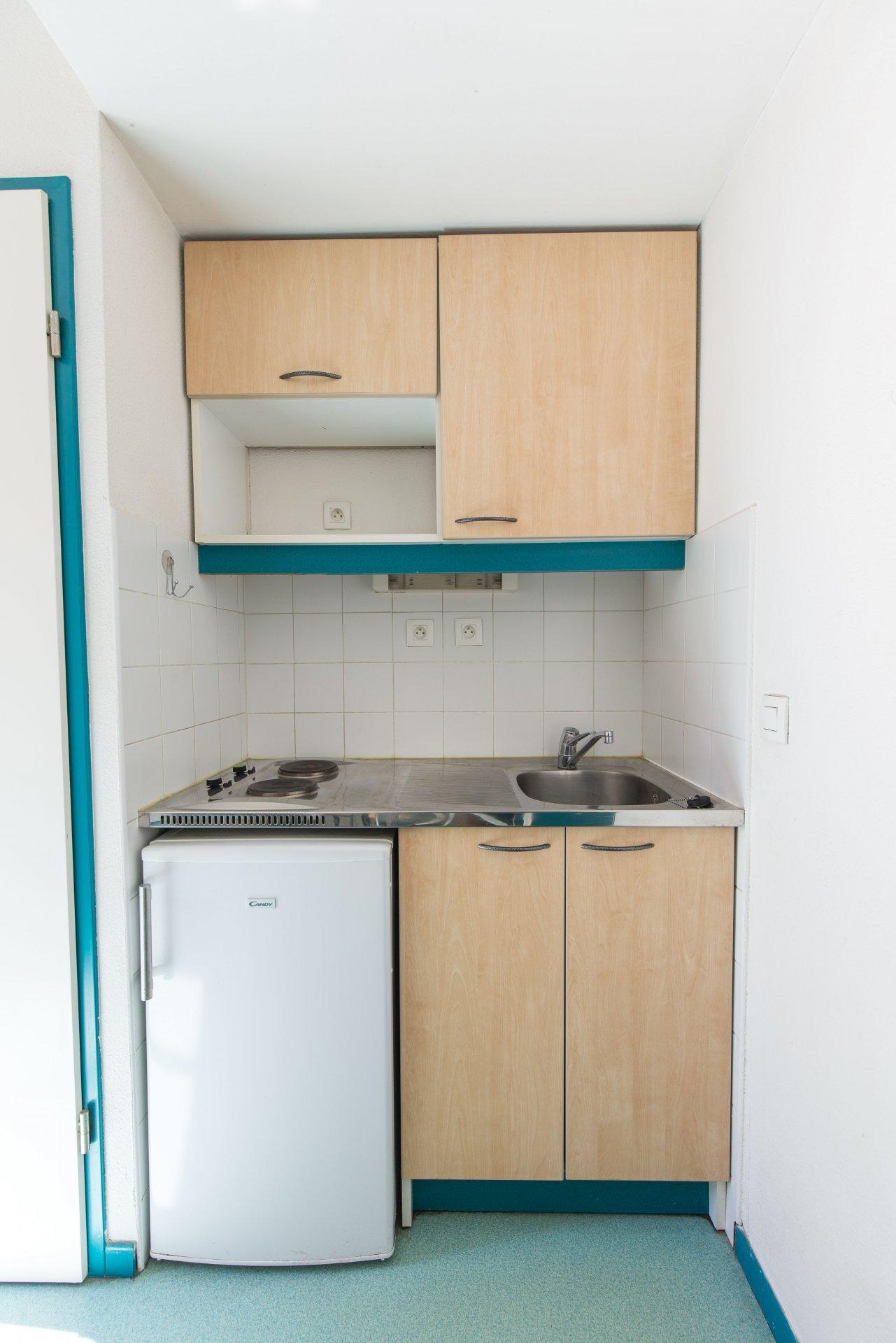 Lyon 3 - Fosse aux Ours - Studio meublé 19 m2 VENDU LOUÉ