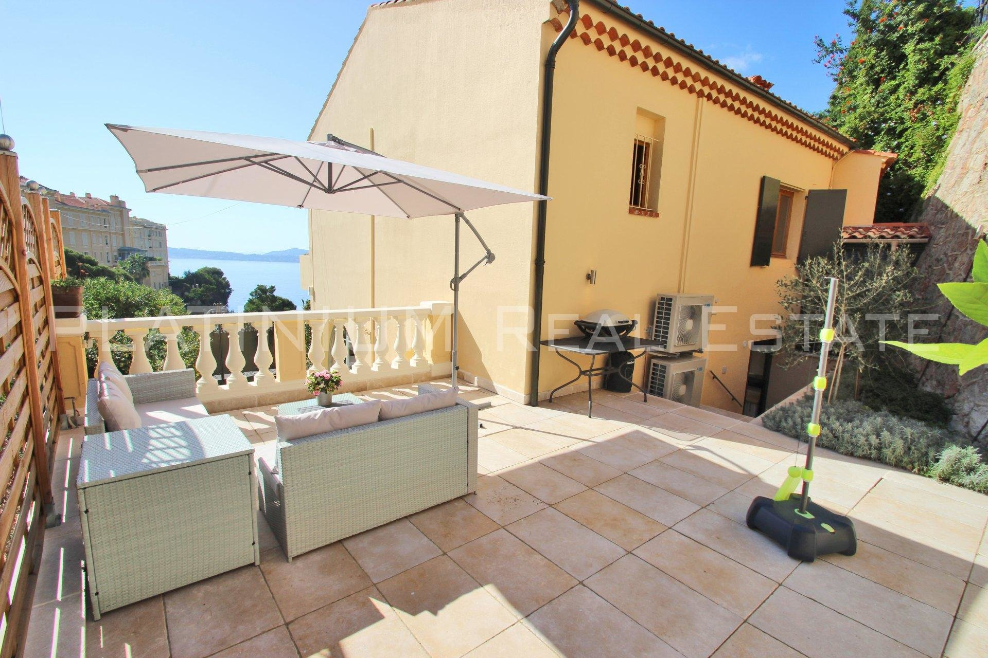 CAP D AIL: LA MALA  In a villa | sea view | 2 bedrooms