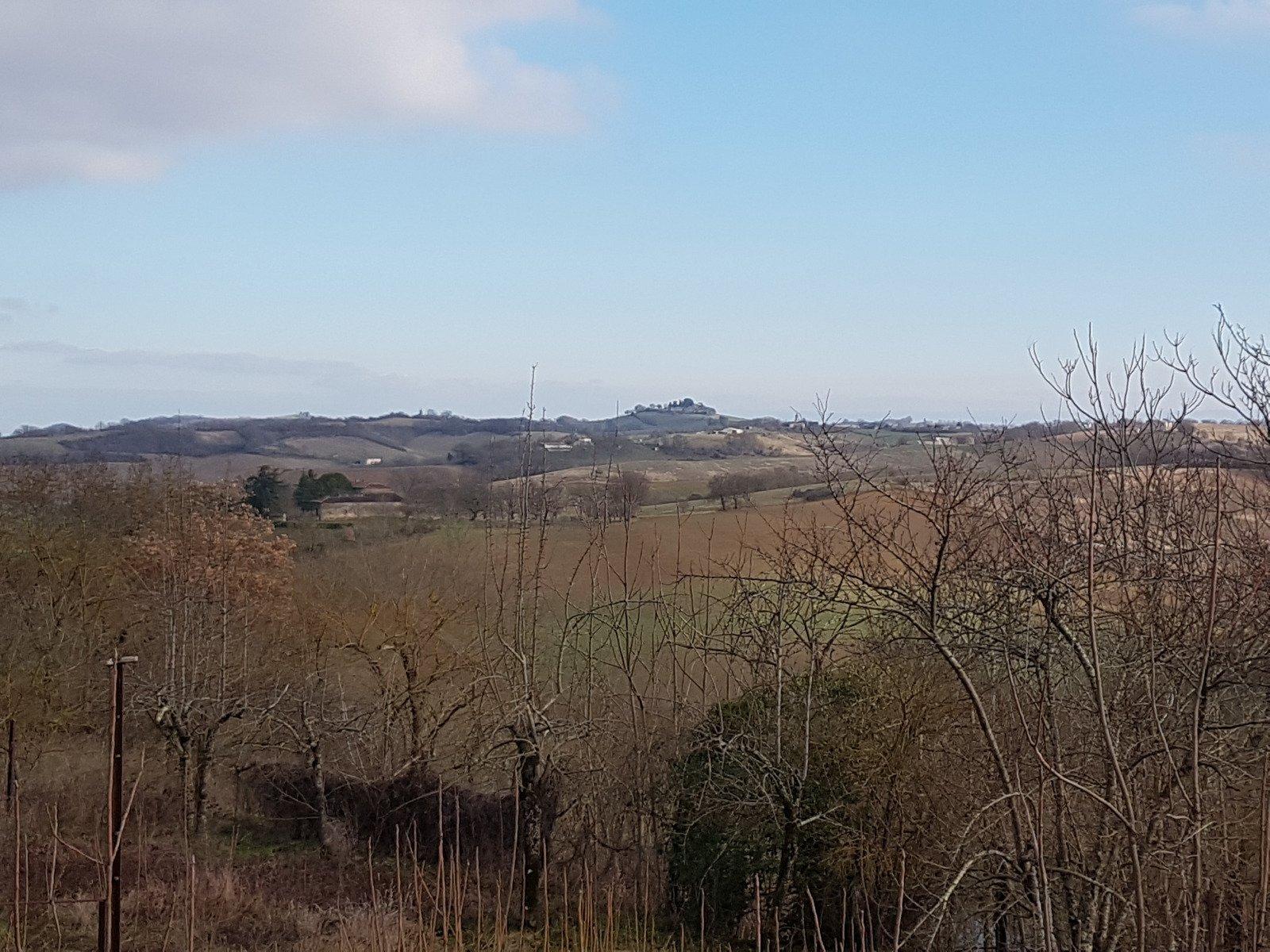 Nice land on the outskirts of a village