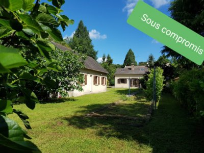 Montigny sur Loing : Maison 7 pièces 118 m2 et dépendance