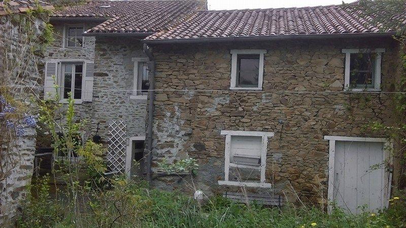 maison de village avec grange et jardin