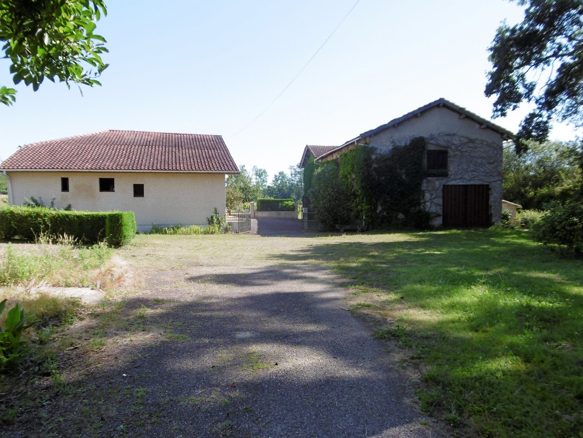Near MONTFORT EN CHALOSSE - Old farmhouse with outbuildings, set in 7 hectares of land.