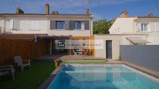 NOT AVAILABLE FURNISHED FURNISHED HOUSE WITH SWIMMING POOL LE BOUSCAT CLOSE BORDEAUX