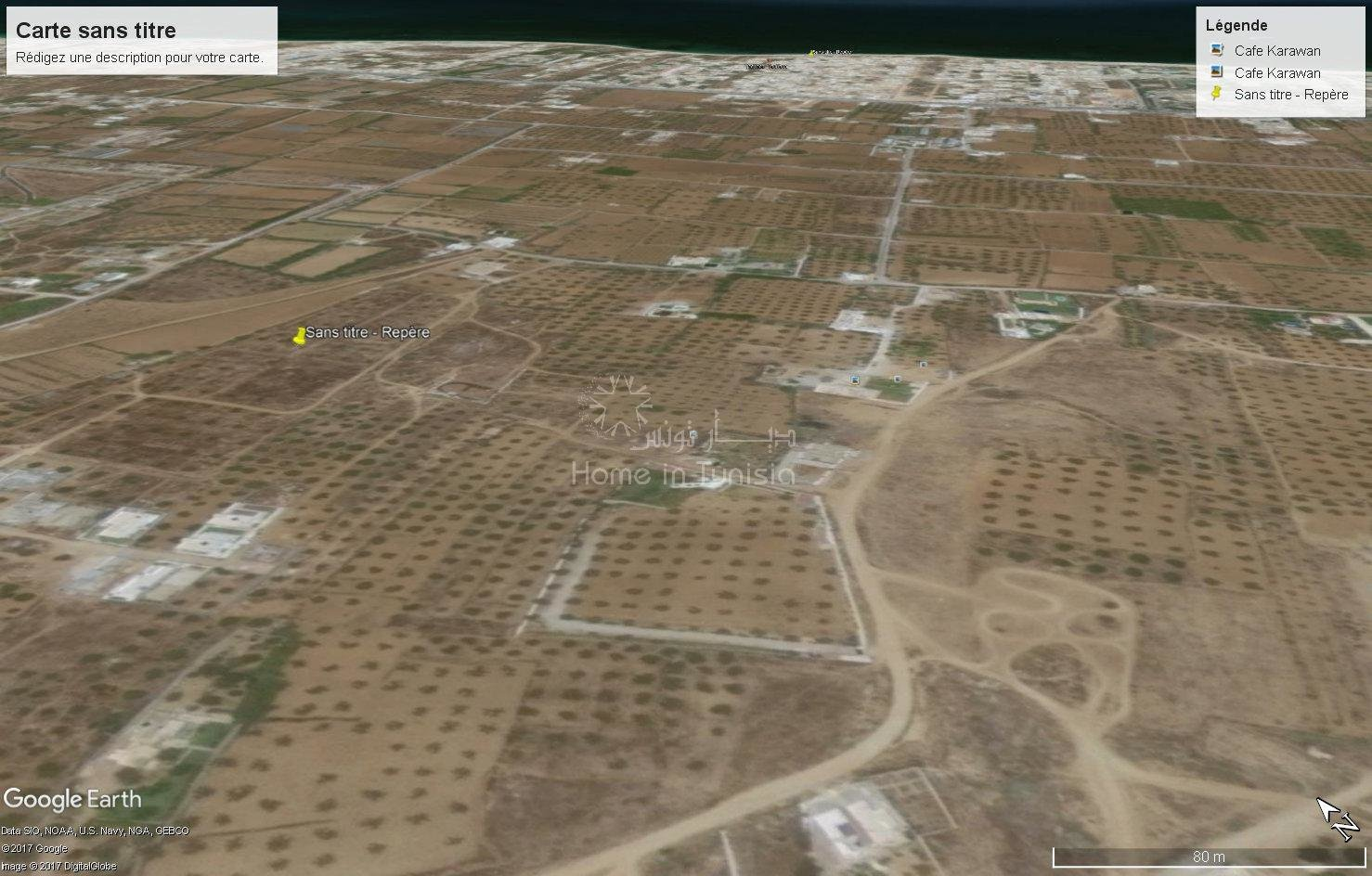 terrain nu de 523 m² à Tantana Chat-mariem