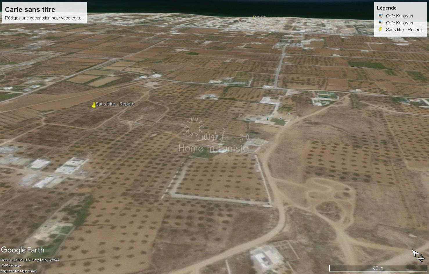 terrain nu de 397 m² à Tantana Chat-mariem