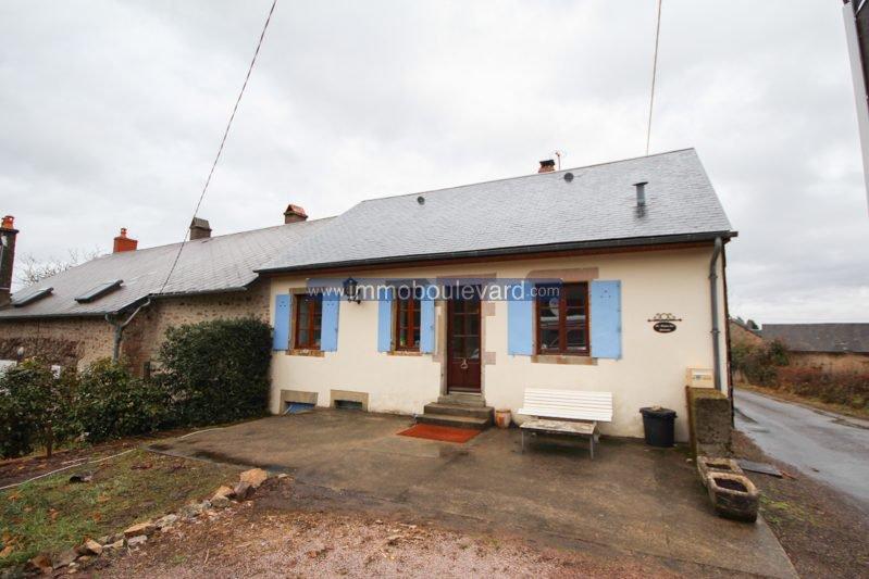 Halfvrijstaand huis te koop nabij Autun in de Morvan