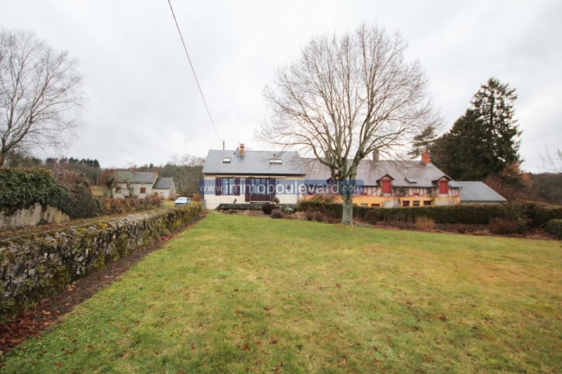 Morvan, leuk huis nabij Autun met mooie tuin