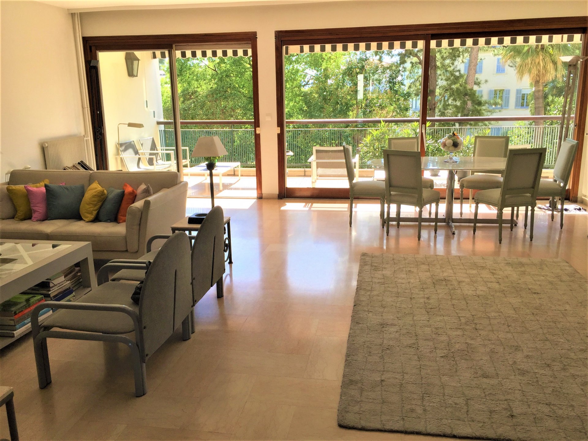 VENTE - CANNES - APPARTEMENT 3P 106 M² + TERRASSE