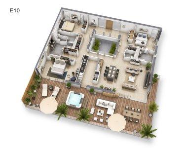 NICE - nyoppført leilighet til salgs