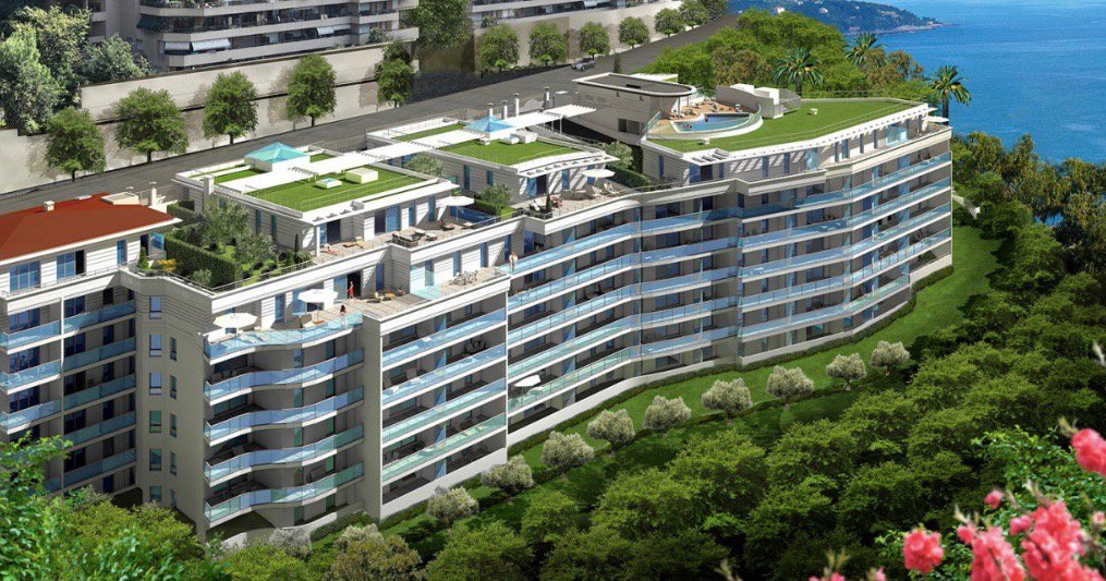 Beausoleil - french riviera - 1 bed Apartment for investment near Monaco