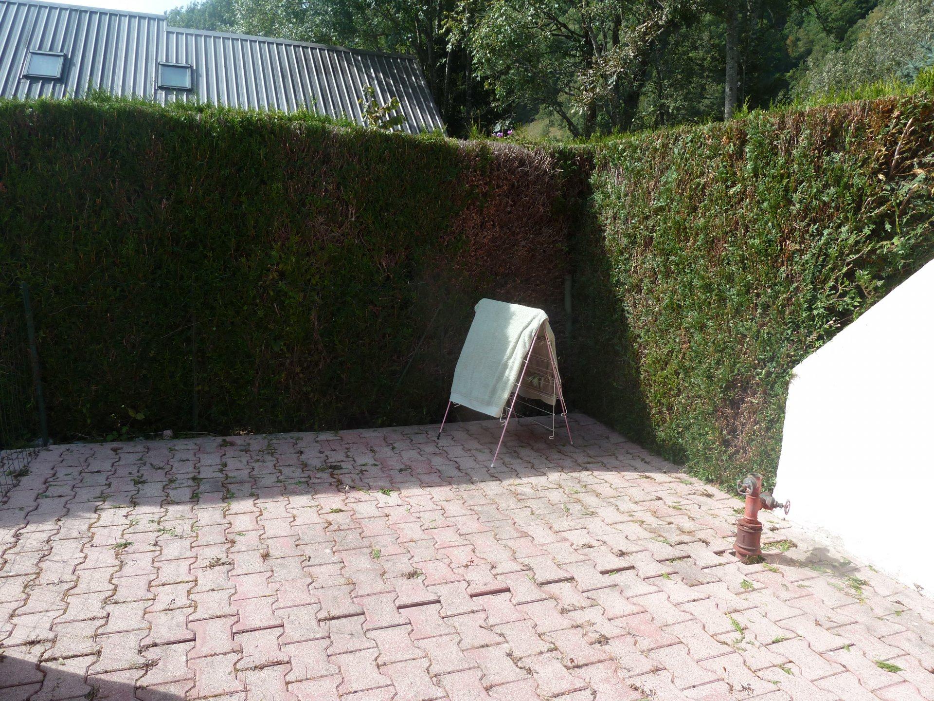 APPARTEMENT T2- rez de jardin- ALLEMONT