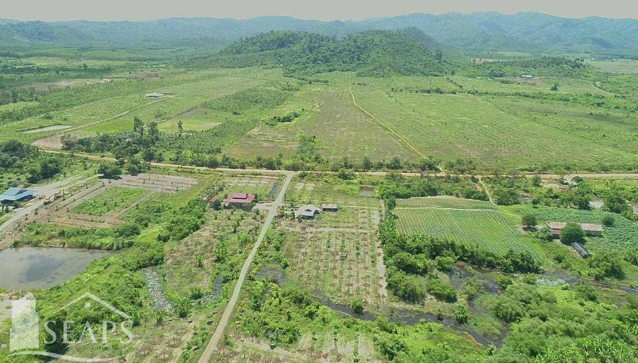 出售 土地情节 Kampot Takaen